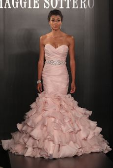 Brides Magazine: Spring 2013 Wedding Dress Trends-Maggie Setorro