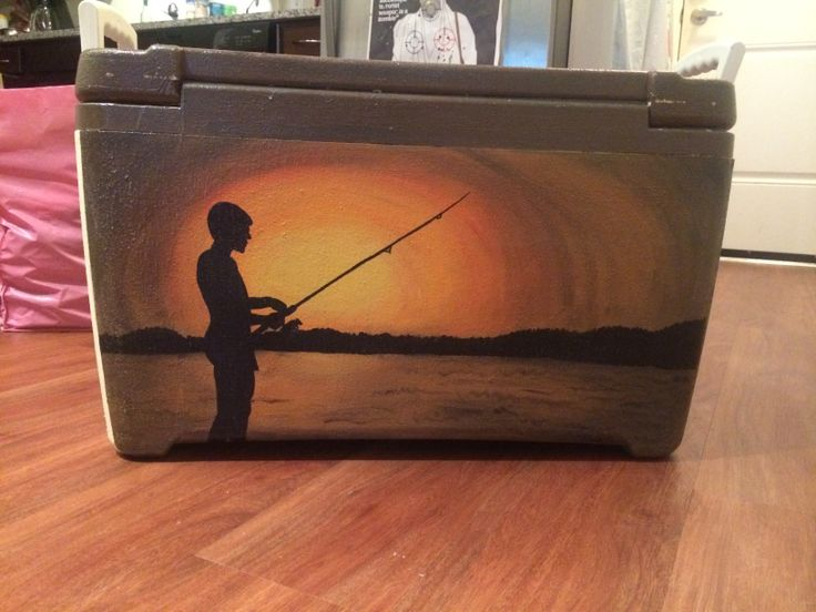 189 best images about zeta tau alpha crafts coolers on for Best fishing coolers