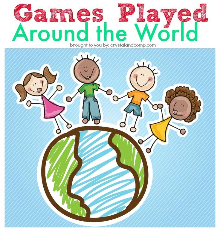 games played around the world - good ideas for an international, around the world, or cruise ship theme