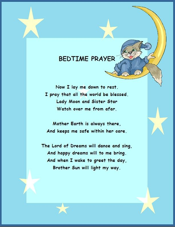 12 Good Catholic Bedtime Prayers for Children – ConnectUS