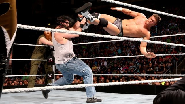 Cody Rhodes & Goldust vs. Luke Harper & Erick Rowan: photos | WWE.com