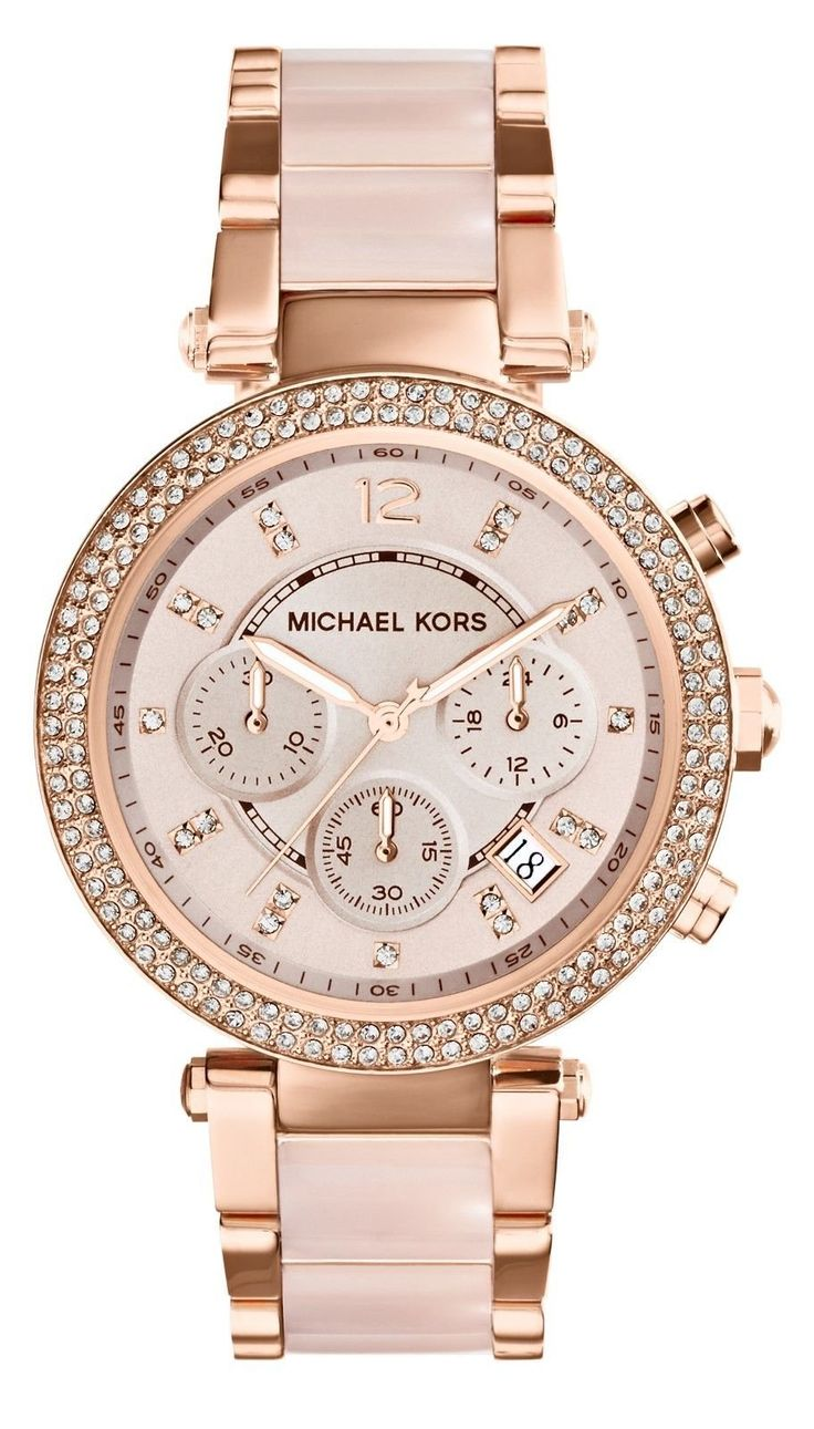 Amazon.com: Michael Kors Watches Parker Women\u0027s Watch (Rose Gold): Michael