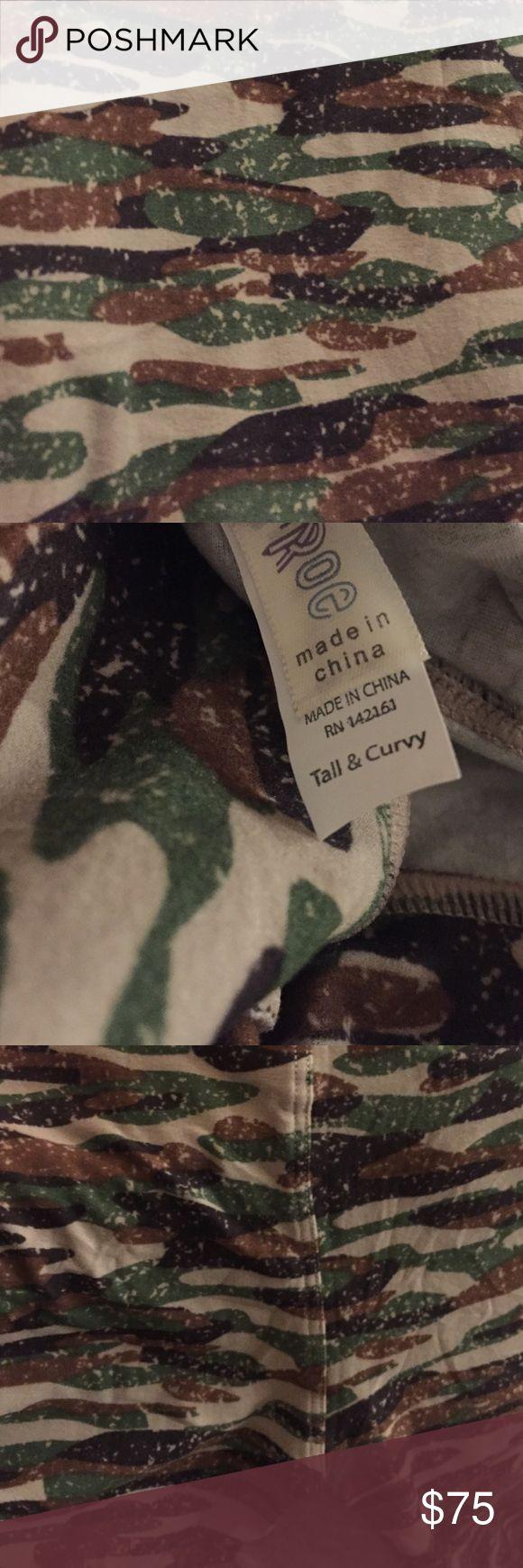 Lularoe TC camouflage leggings new Lularoe TC camouflage leggings new LuLaRoe Pants Leggings