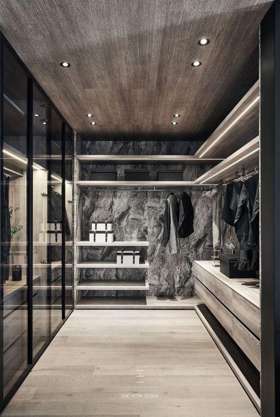 14 begehbare Kleiderschränke für Luxusimmobilien