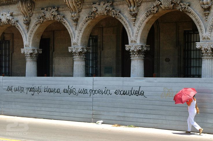 Hidden Poetry on a White Page photo | 23 Photos Of Havana