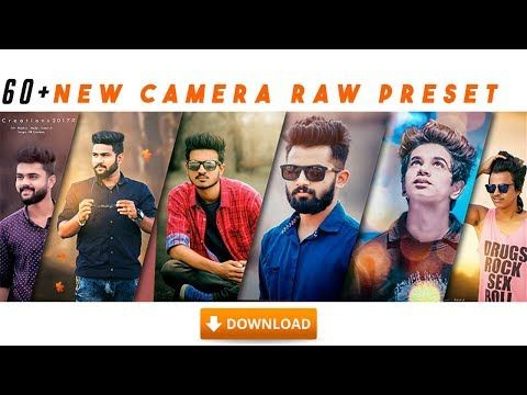 9) 60+ New Camera raw presets free download - YouTube