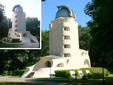 Einstein Tower in Potsdam, Germany : link to page with fantastic architecture like this.  Neat!  S