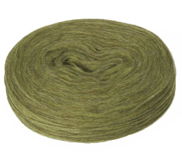Plötulopi 1423 - clover green heather - available at alafoss.is #yarn #knitting #wool #icelandic