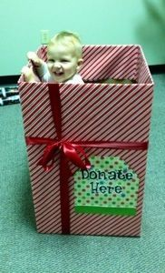 ideas for decorating toys for tots donation box - Google Search