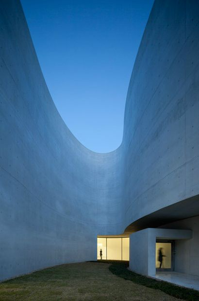 Curves are crucial. Mimesis Museum by Alvaro Siza