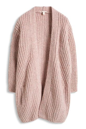 dusty pink cardigan                                                                                                                                                                                 Mehr
