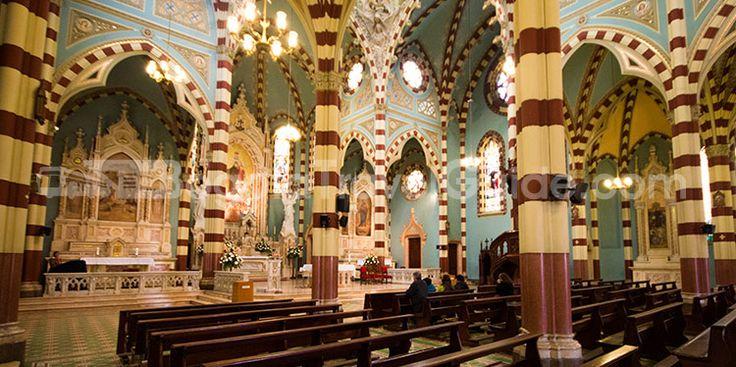 Nuestra Señora del Carmen Church in Bogota, Colombia