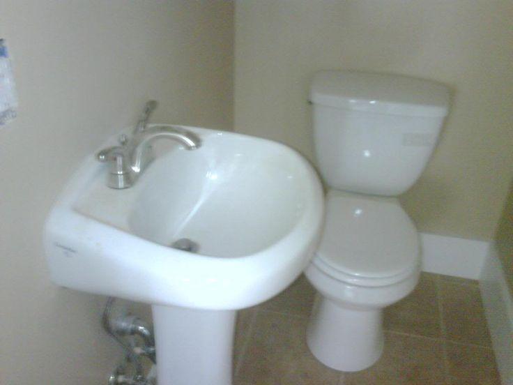 Ridge half bath was a 3x3 coat closet photo this photo for Bathroom design 3x3
