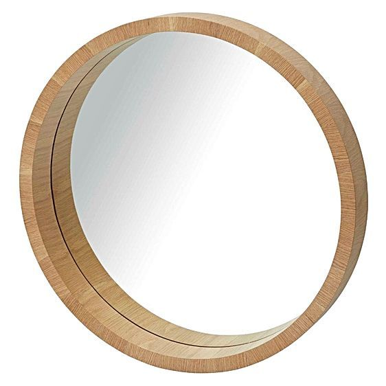 Profound in its simplicity, the Paloma Wall Mirror from Amalfi instils contemporary, Scandinavian style in your space.