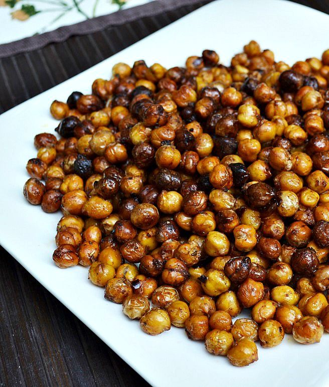 spiced roasted chickpeas | cauliflower is nothing but cabbage with a ...