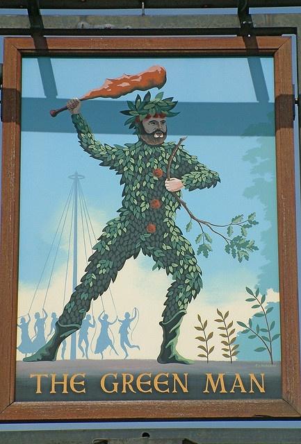 Green Man, Flackwell Heath by Thorskegga, via Flickr