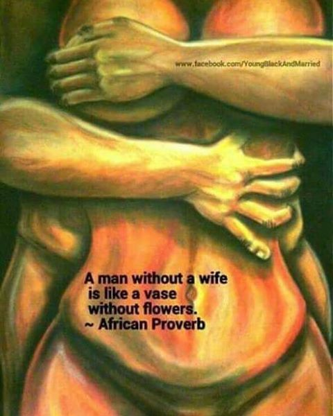 """25 Likes, 2 Comments - Ayatallah El-Amen (@poetic_king7) on Instagram: """"A man without a wife is like a vase without flower's.... EMPTY #africanproverb  #africanculture…"""""""