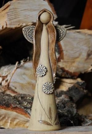 handbuilt ceramic angel - Google Search: