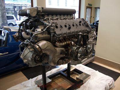 Cars & Life | Cars Fashion Lifestyle Blog: Bugatti Veyron W16 Engine and Gearbox at HR Owen London