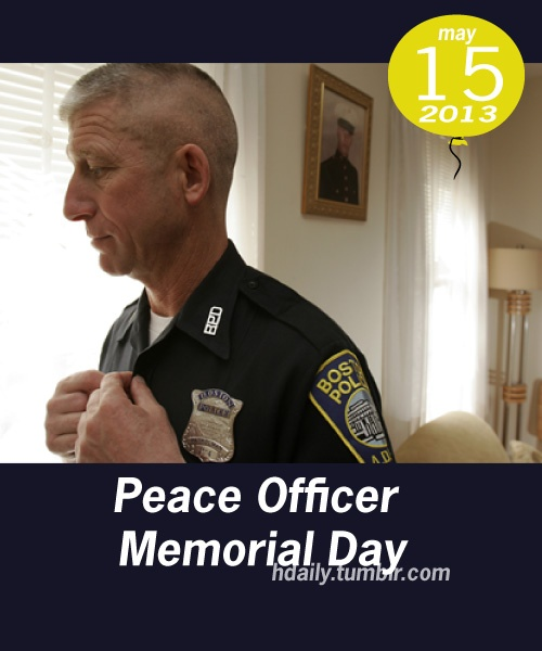 peace officers memorial day 2015 flags half staff