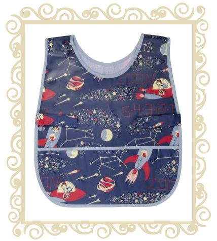 On sale! http://www.buttonbaby.com.au/danica-studios-smock-space-p-1646.html   - Danica Studios Art Smock - Space