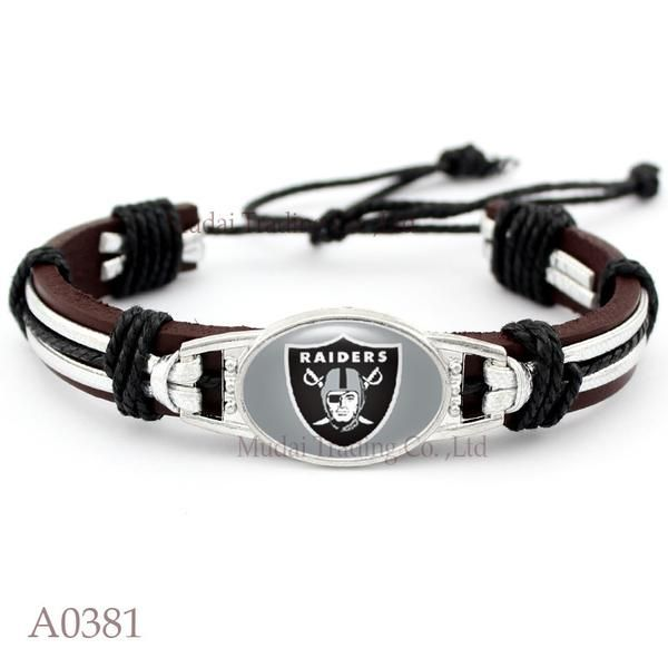 Please Share This Offer Oakland RaidersCuffBracelet This…