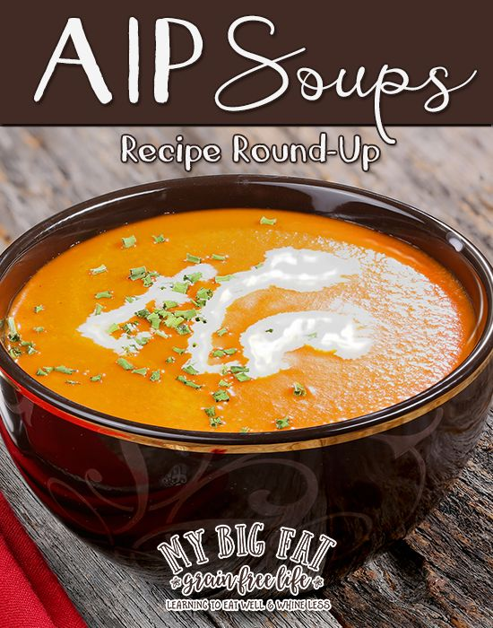 49 AIP soups roundup