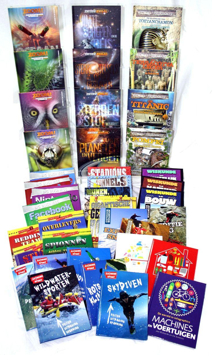 Informatieve boekenseries van uitgeverij Corona. Interessant voor nieuwsgierige jongens (en meisjes)!