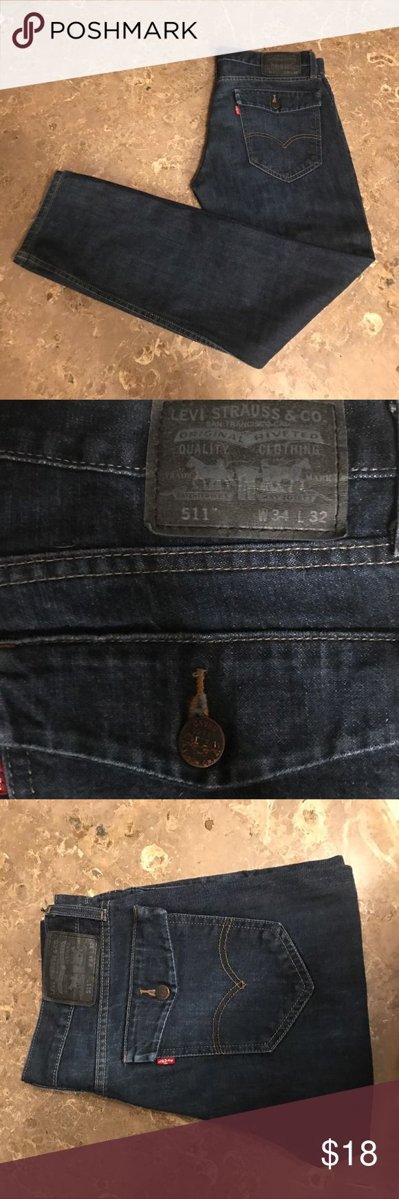 Levi's jeans 511 Levi's jeans in great condition. 34x32 Levi's Jeans Slim