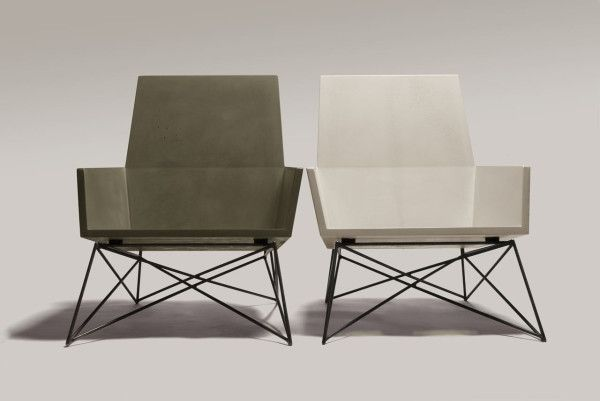Outdoor Concrete Seating by Hard Goods