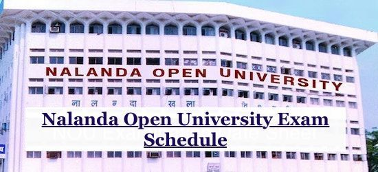 Nalanda Open University Time Table 2019, Here Provide NOU BA