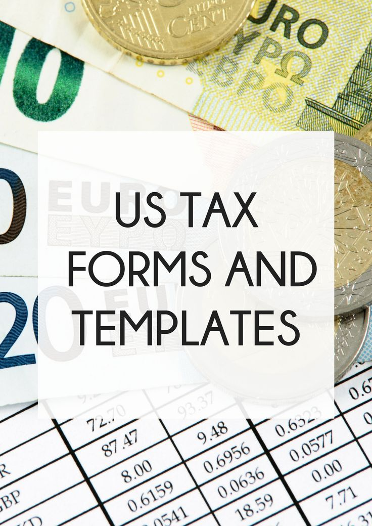 Best Us Tax Forms And Templates Images On   Business