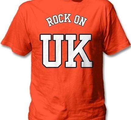 ROCK ON UK® Men's Soft Style T-Shirt - Orange