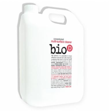 Bio-D Οικολογικό Βιοδιασπώμενο Συμπυκνωμένο Καθαρίστικο Για Όλες τις Επιφάνιες 5LT