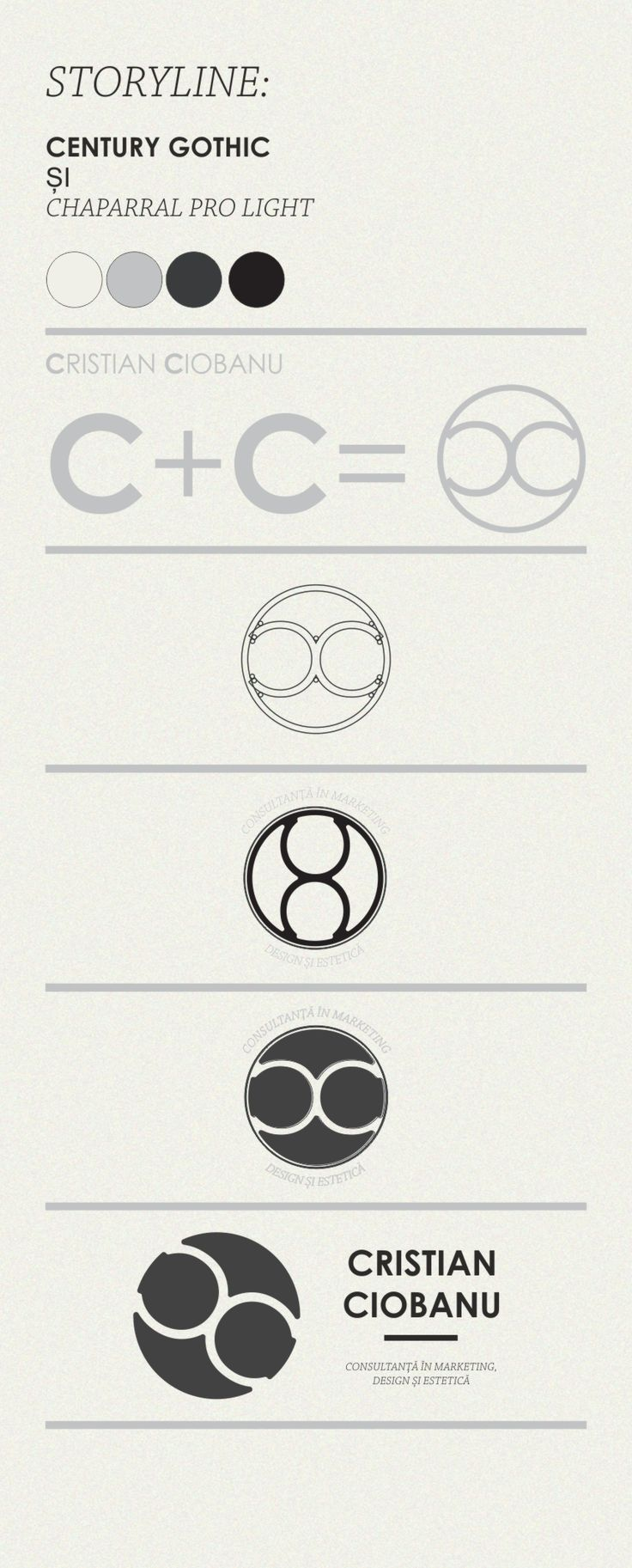concept logo PFA Cristian Ciobanu