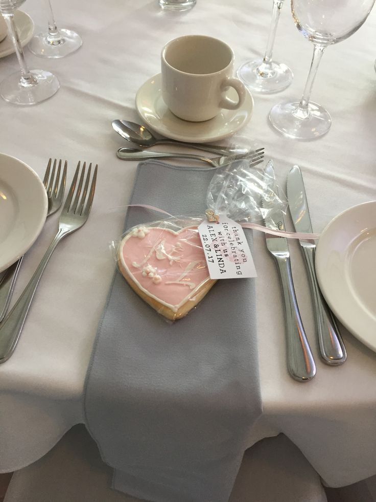Pink and grey guest table decor from real Vancouver, BC wedding. #createweddingsandevents #vancouverweddings
