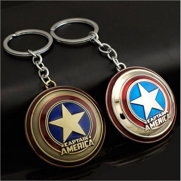 2016 new hot Avengers Captain America film surrounding key ring free delivery