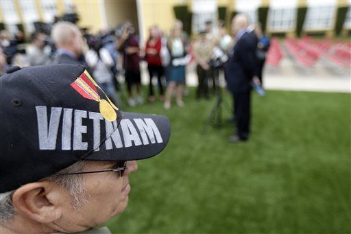 Vietnam veterans get medals for heroic actions