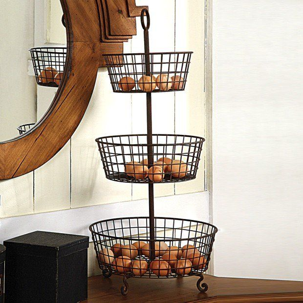 22 Best Three Tier Wire Basket Images On Pinterest