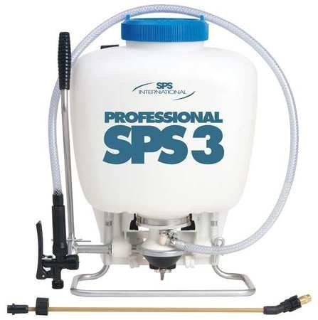 SP SYSTEMS SPS3 Backpack Sprayer,4 gal.,HDPE by SP Systems. $190.86. Backpack Sprayer, High Pressure Diaphragm, Tank Capacity 4 gal., Tank Material HDPE, In Tank Filter Yes, Hose Length 51 In., Fill Opening Size 6 In., Pressure Release No, Wand Material Brass, Nozzle Type Adjustable, Nozzle Material Brass, Hose Material PVC, Wand Length 20 In.Pressure Range 15 to 80 psi (150 max. psi), Seal/Gasket Material Viton(R), Features High Pressure Diaphragm, Compatible With He...