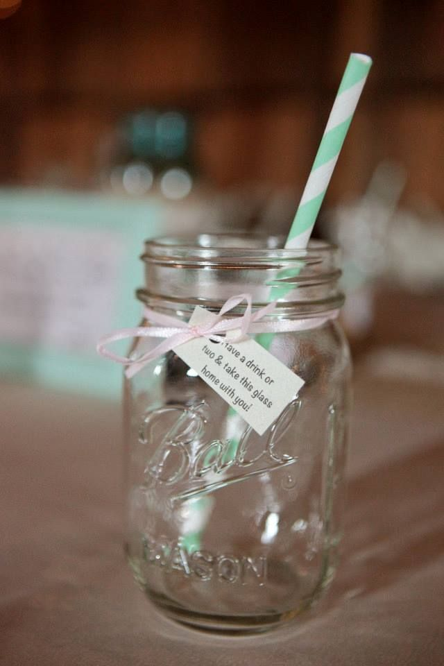 mason jar drinking glass favor - Mason Jar Drinking Glasses