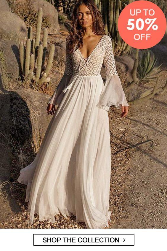 Try this style-- White V-neck Flared Sleeveless Maxi Dress 50%OFF ... 753c92036