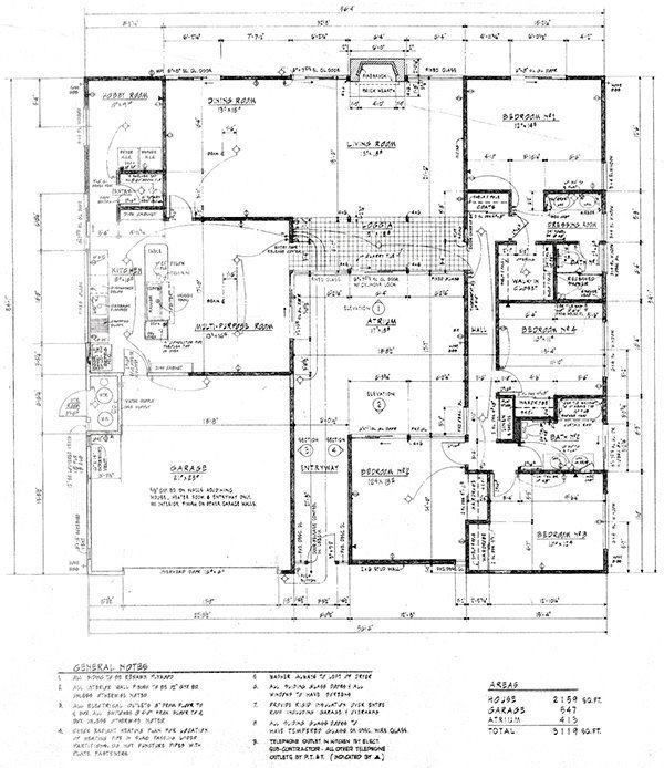 26 best eichler floor plans images on pinterest modern