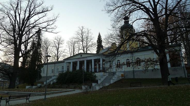 Albrechtshalle, Lądek Zdrój, Poland