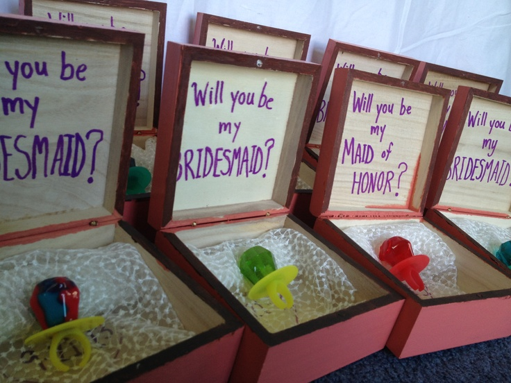Pop the question to your bridesmaids with Ring Pops!!! #bridesmaids