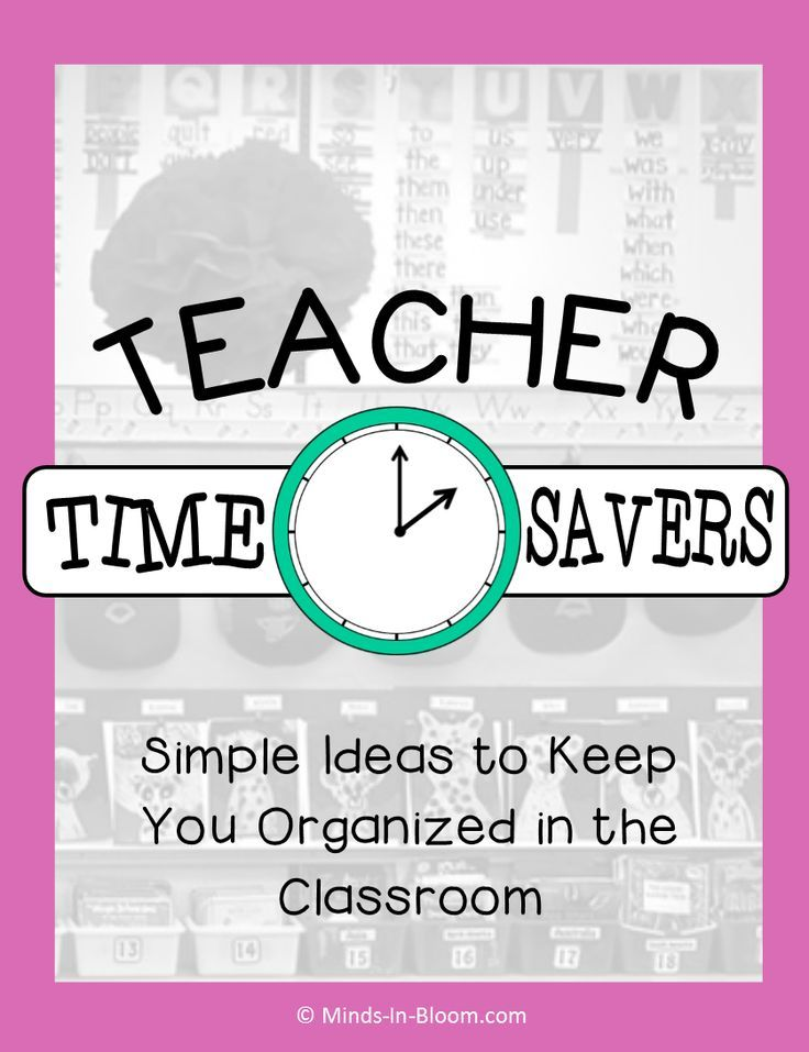 Teacher Time Savers - A really stunning post! You are sure to find something you…