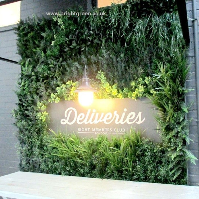 Artificial Green Walls Offer An Alternative To Living Walls. We Design And  Manufacture Each Artificial Plant Wall With Exterior Grade Foliages That  Have ...