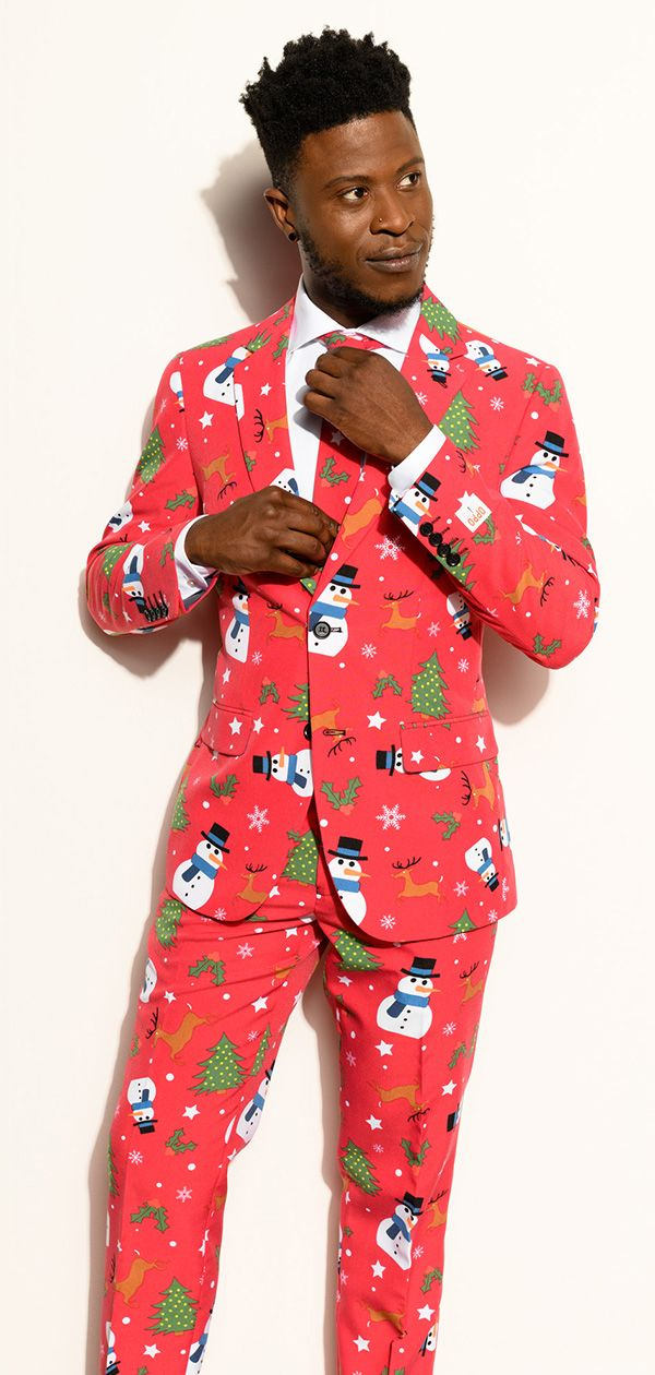 ef2483648 Creative outfit for Xmas with the suit from OppoSuits