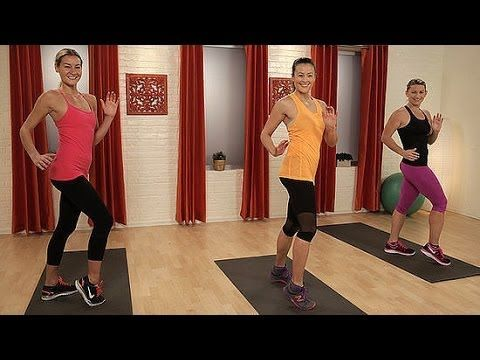 At-Home Cardio Sweat Workout - No Running Required! | Class FitSugar