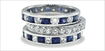 Diamond District NYC - diamantes - anillos de compromiso - Bandas de bodas de diamante